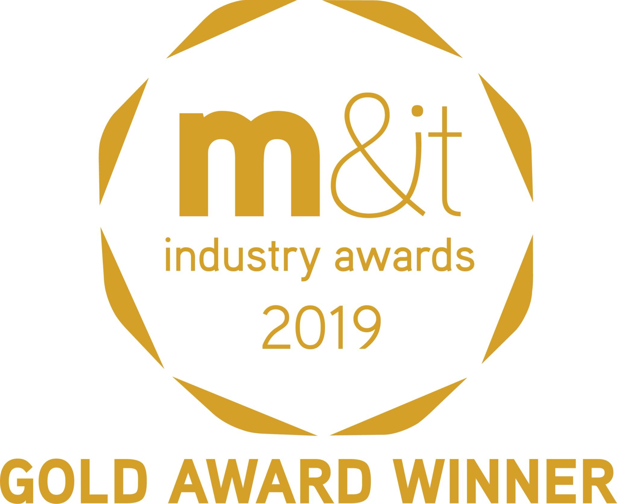 Mit Awards Gold Winner 2019